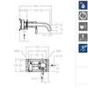 Встраиваемый смеситель для раковины ATICA 752102 - фото №2