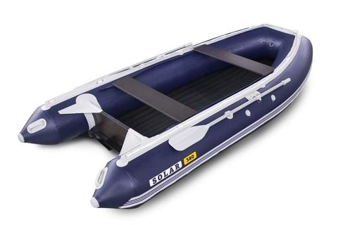 Надувная ПВХ-лодка Солар - 380 Jet Tunnel (синий)