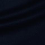 Плательно-костюмный кашемир с шёлком тёмно-синего цвета