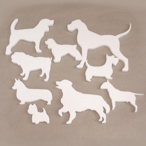 Набор №27  собаки Великобритании. из пенопласта