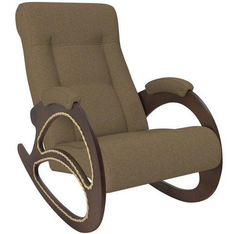 Кресло-качалка Комфорт Модель 4 орех/Malta 17