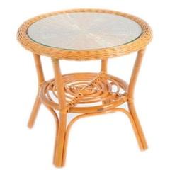 Столик кофейный из натурального ротанга Vinotti Бали