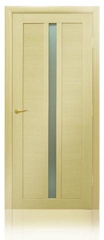 Дверь Венеция 05 (беленый дуб, остекленная экошпон), фабрика Casa Porte