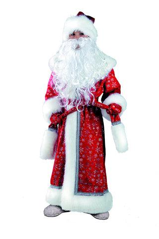 Дед Мороз красный плюш