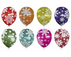 Шар со Снежинками Кристалл варианты цветов