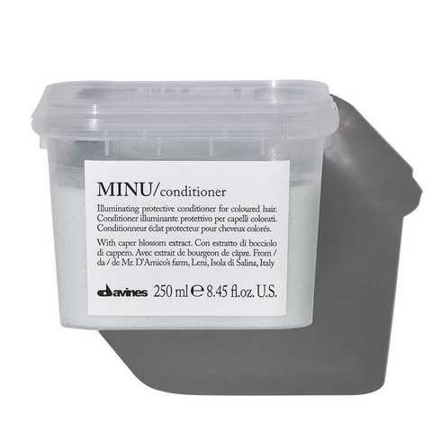 MINU/conditioner - Защитный кондиционер для сохранения косметического цвета волос