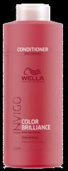 WELLA INVIGO COLOR BRILLIANCE Бальзам-уход для защиты цвета окрашенных нормальных и тонких волос 1000 мл