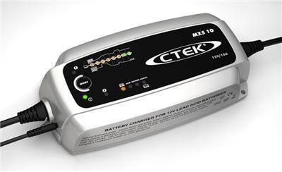 Зарядное устройство для 12В АКБ (8 этапов, 20‐300Aч) MXS 10EC