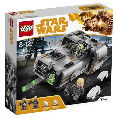 LEGO Star Wars: Спидер Молоха 75210 — Moloch's Landspeeder — Лего Звездные войны Стар Ворз