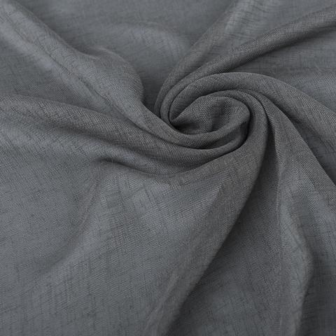 Ткань хлопок Иви серый