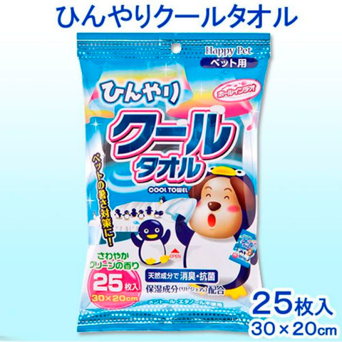 743006 - Влажные охлаждающие полотенца для собак