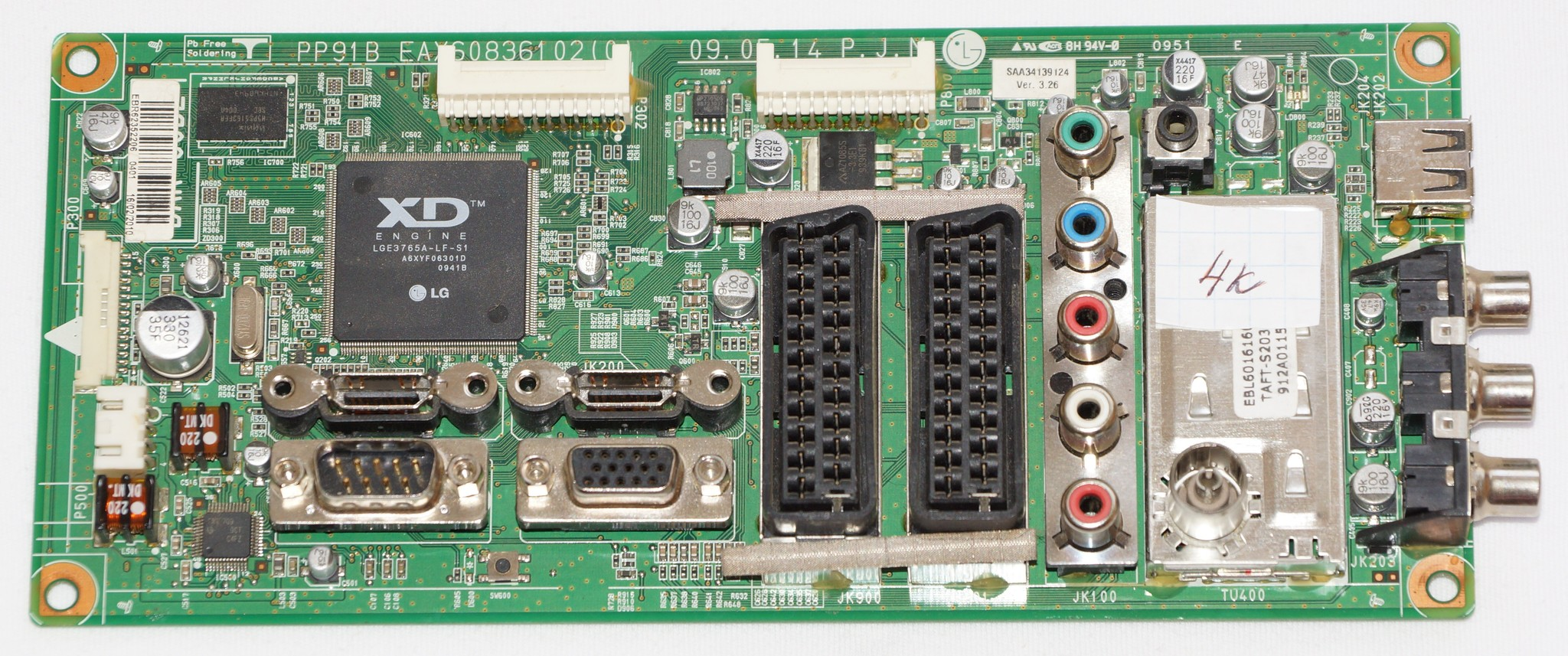 EAX60836102(0) EBR62352206 mainboard телевизора LG