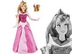 Аврора Принцесса Диснея с питомцем в Магии кукол