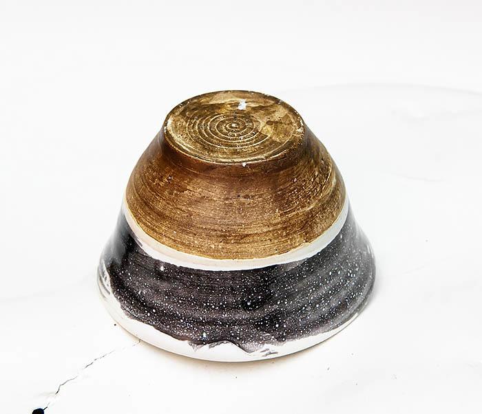 CUP101-3 Пиала ручной работы, керамика, серия «Млечный Путь» фото 03