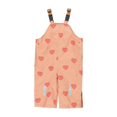Зимний Полукомбинезон Tinycottons Hearts Tan