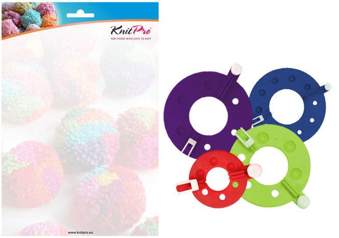 Набор для изготовления помпонов KnitPro Rejoice (4 шт. в наборе) 10871