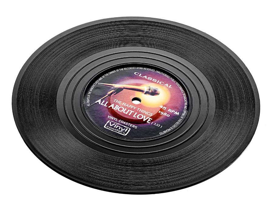 """Для чашек Костер """"Виниловая пластинка"""" 4 шт 10 см, для стаканов и кружек koster-vinyl4-teastar.PNG"""