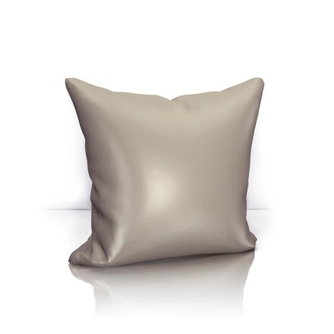 Подушка декоративная Авери бежево-сиреневый