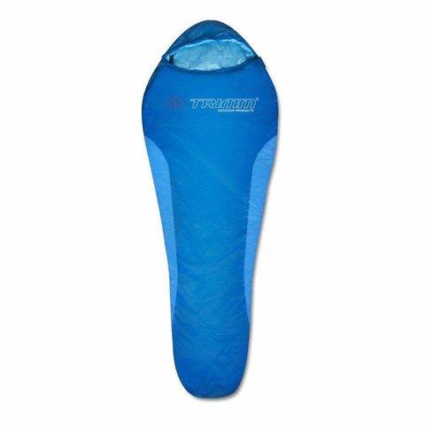 Летний спальный мешок Trimm Cyklo, 185 R (синий)
