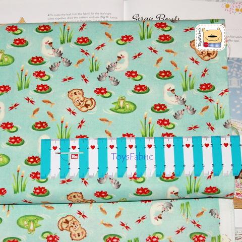Ткань для пэчворка 20941 (пруд) 45х55см