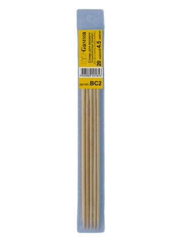 Спицы BC2 носочные бамбуковые 20 см