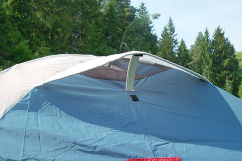 Палатка Canadian Camper KARIBU 4, цвет royal, вентиляция.