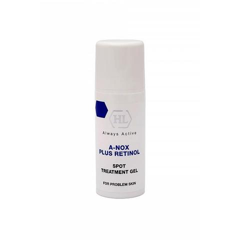 Рассасывающий и стимулирующий заживление точечный гель для жирной и проблемной кожи Spot Treatment Gel,  A-NOX plus RETINOL, Holy Land, 20 мл