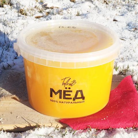 Мёд цветочный середины лета 2020 Ивановка 3 литра (4,3кг)
