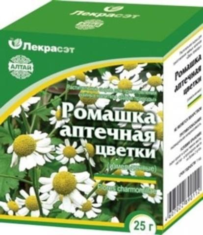 Ромашка аптечная (цветки) 25 г.
