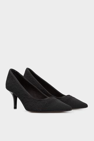 Женские черные туфли Tommy Hilfiger