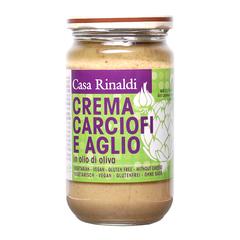 Крем-паста Casa Rinaldi из артишоков с чесноком в оливковом масле 180г