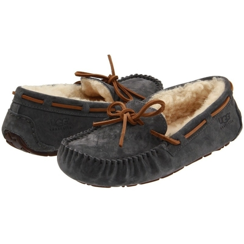 Женские угги UGG Mocassins Dacota Grey