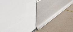 Стальной плинтус Progress Profiles BTACS 100*2000 мм сатинированная нержавеющая сталь