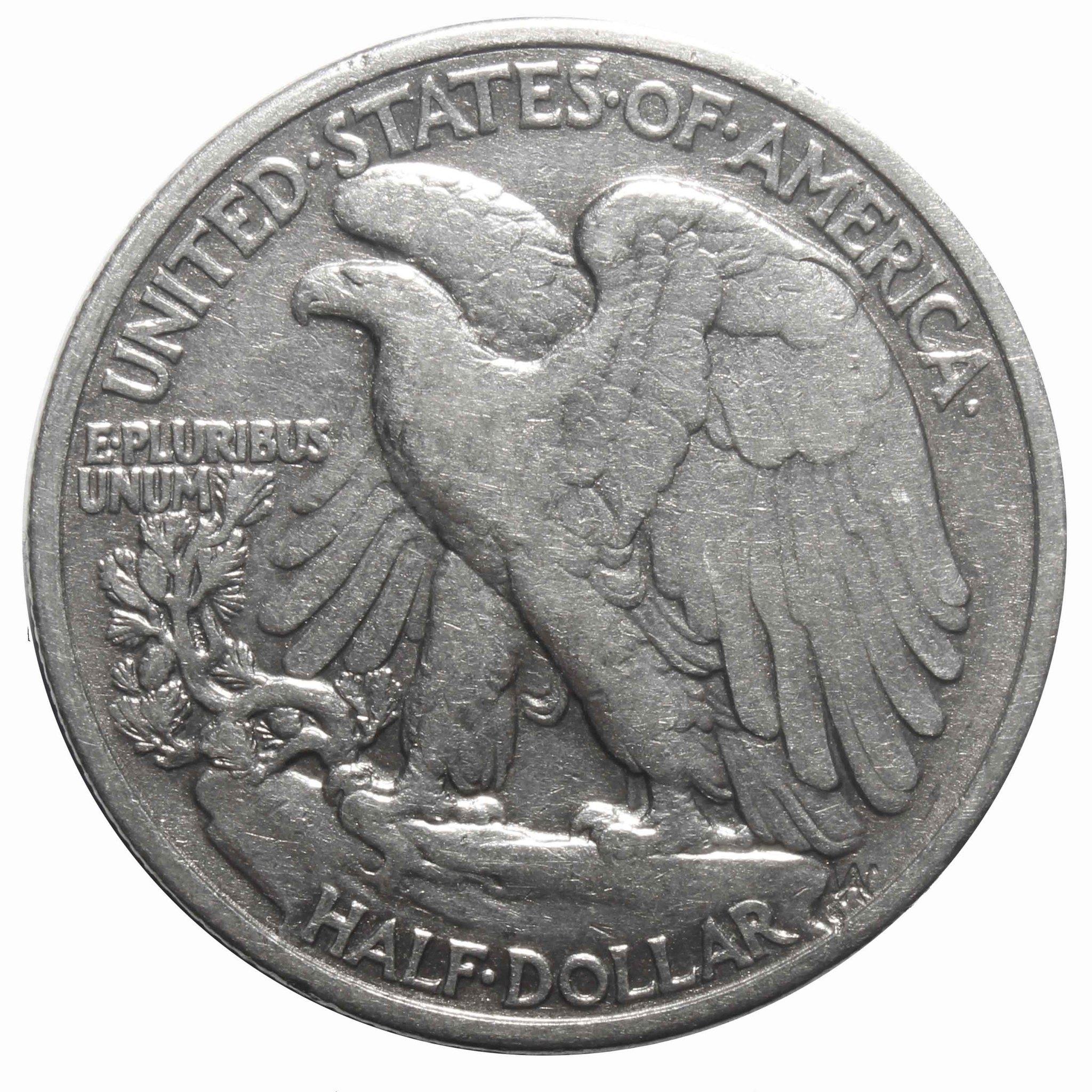 1/2 доллара США  (Шагающая свобода) 1940 год VF