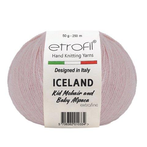 Iceland ETROFIL (55% полиамид, 30% вискоза, 10% мохер, 5% альпака, 50 гр/250 м)