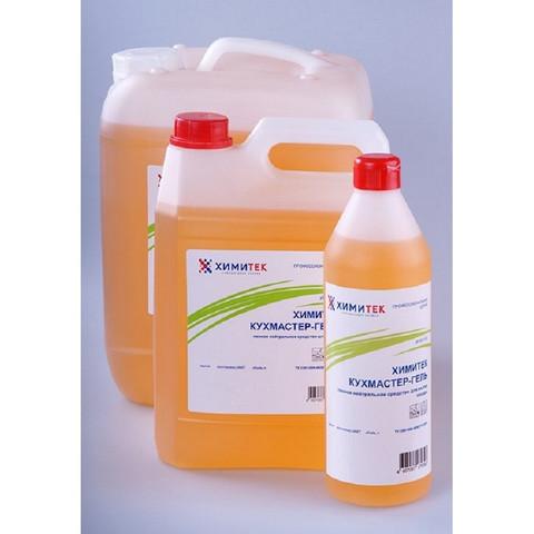 Средство для ручного мытья посуды Химитек Кухмастер-Гель 5 л (концентрат)