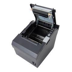 Чековый принтер Mertech MPRINT G80 USB Black, 203 dpi, термопечать, лента 80 мм, Честный Знак, ЕГАИС, QR-код