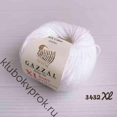 GAZZAL BABY COTTON XL 3432XL, Белоснежный