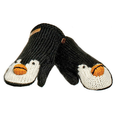 Картинка варежки Knitwits Peppy the Penguin  - 1