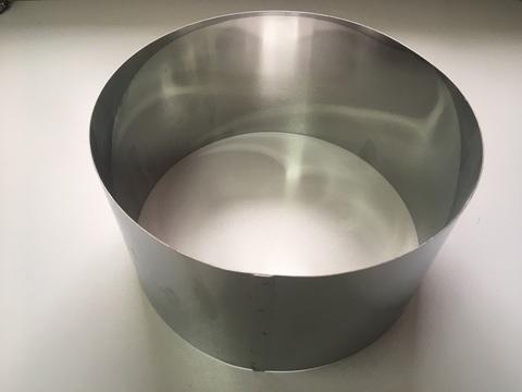 Кольцо-резак для торта H15 D28, нерж. сталь 1 мм.