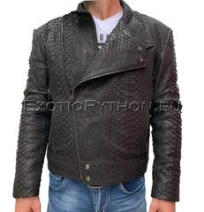 Куртка из кожи питона JT-37