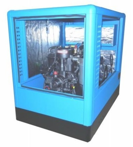 Дизельный генератор Вепрь АДС 200-Т400 ТК в кожухе