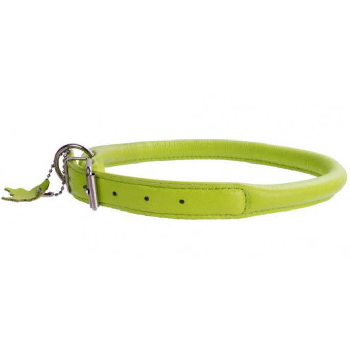 круглые кожаные ошейники для собак collar