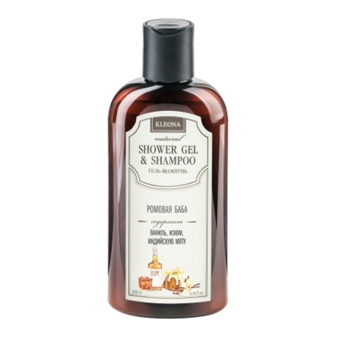 Гель-шампунь «Ромовая баба»