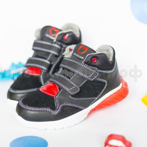 Ботинки, красный светодиод