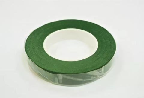 Тейп-лента,зеленая, ширина 1,2 см