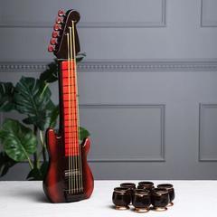Набор для коньяка «Гитара» 1 л/0,05 л, фото 2