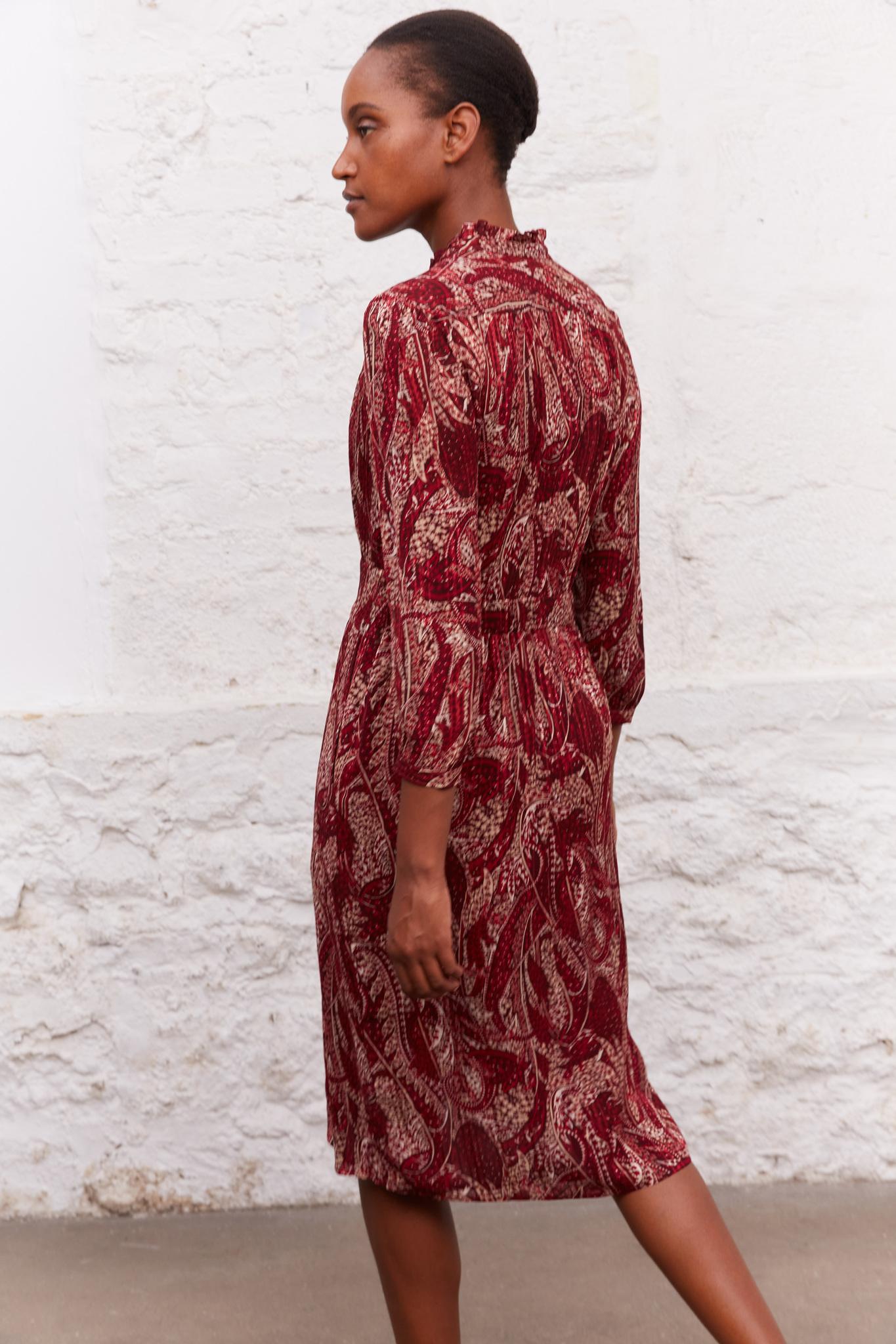 JUDITH - Платье с V-образным вырезом