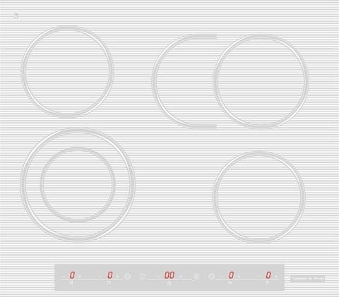 Стеклокерамическая варочная панель Zigmund & Shtain CNS 259.60 WX