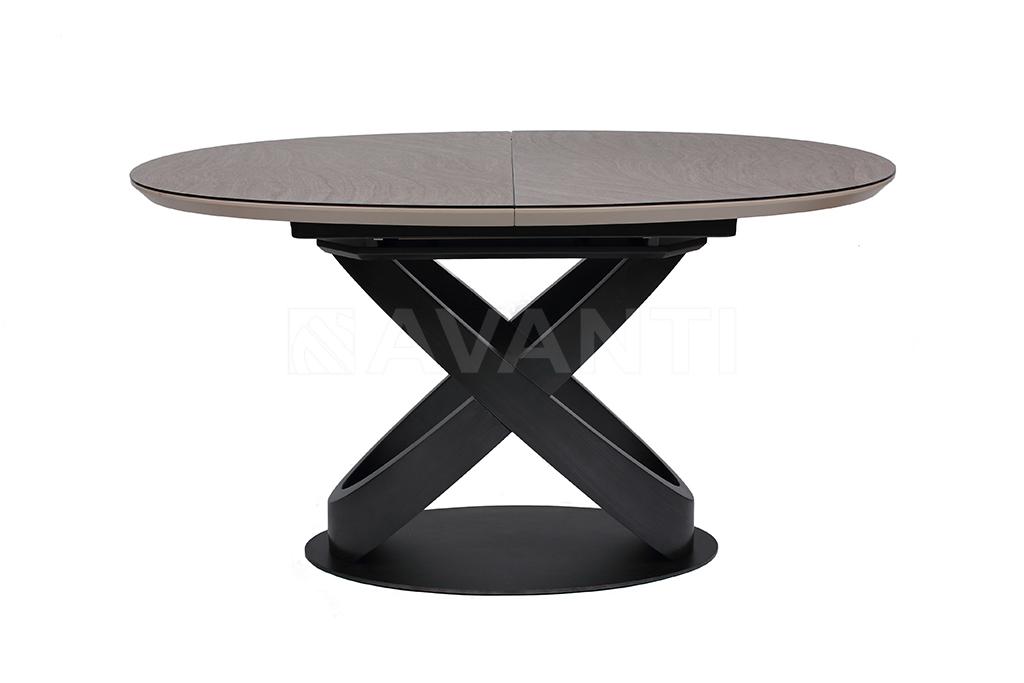 Стол обеденный ORBITA (140) BROWN (коричневый)